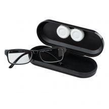 Black Dual Glasses and Lens Cases