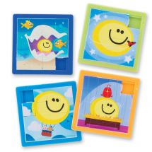 Smiley Guy Slide Puzzles