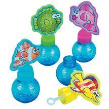 Cartoon Fish Bubbles