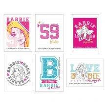 Barbie Temporary Tattoos