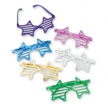 Metallic Star Shutter Shades