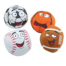Plush Silly Sports Balls