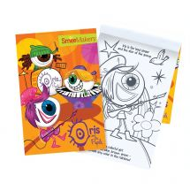 Iris and The Pupils Coloring Books