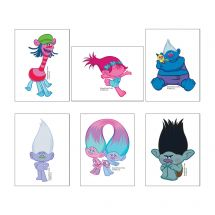Dreamworks' Trolls Movie Temporary Tattoos