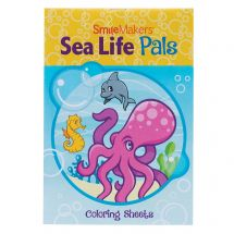 Sea Life Pals Coloring Books