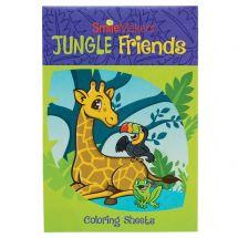 Jungle Friends Coloring Books
