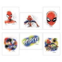 Spider-Man Temporary Tattoos