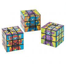 Mini Ninja Puzzle Cubes