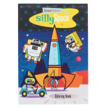 Silly Space Coloring Books