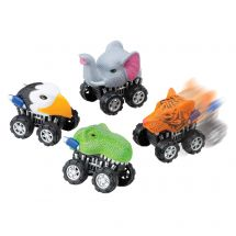 Animal Pullback Racers