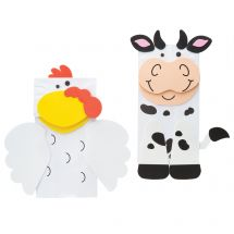Farm Animal Friend Puppet Craft Kits