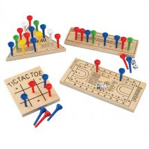Wooden Peg Game Assortment