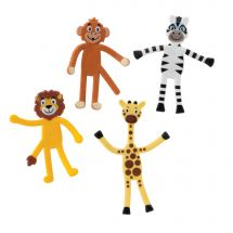 Zoo Animal Bendables