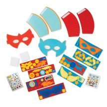 Superhero Masks & Cuffs Craft Kit