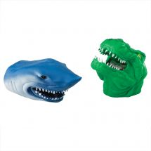 Shark and Dino Finger Puppets