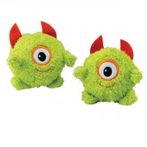 Green Fuzzy Monster Plush