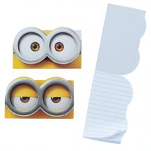 Minions Shaped Notepads