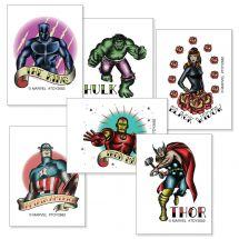 Marvel Comics Inked Tattoos