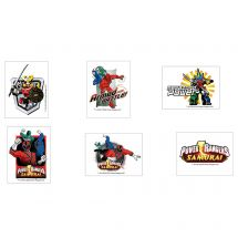 Power Rangers Temporary Tattoos