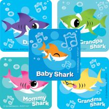 Baby Shark ValueStickers™