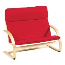 Kiddie Rocker Couch (Red)