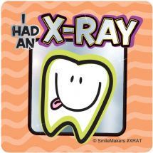 Dental X-ray Foil Stickers