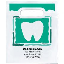 Custom Cut Out Tooth Bags