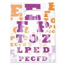 Scatter Eye Chart Bags