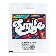 Custom Bright Style Smile Bags
