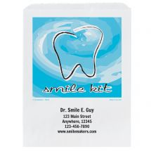 Custom Smile Kit Paper Bags- Small, Large, or Pharmacy