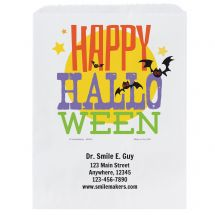 Custom Happy Halloween Paper Bags