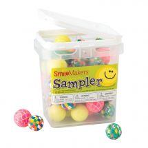 Colorific Bouncing Balls Sampler
