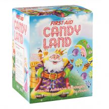 First Aid Candy Land Bandages - Case