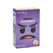 Emoji™ Antibacterial Bandages