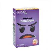 Emoji™ Antibacterial Bandages - Case