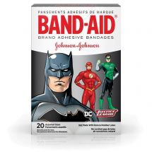 BANDAID Justice League Bandages-Case