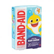 Band-Aid Baby Shark Bandages - Case
