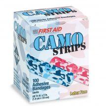 Pink & Blue Camouflage Bandages