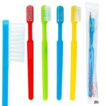 SmileCare Adult Pre-Pasted Disposable Toothbrushes