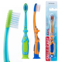 SmileCare Toddler 3-D Dino Toothbrushes