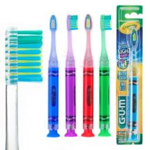 GUM® Crayola™ Youth Toothbrush & Timer Light