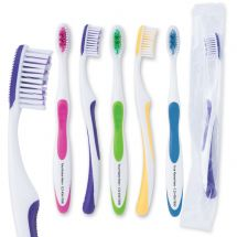 Custom SmileCare Adult Super Grip Toothbrushes - Case