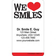 We Love Smiles Re-stick-its