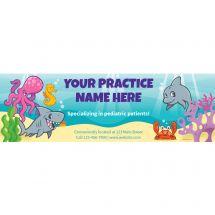 Custom Sea Life Pals Banner