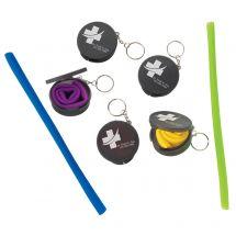 Custom Reusable Silicone Travel Straws