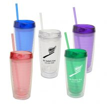Custom 16 oz. Double Wall Acrylic Tumbler