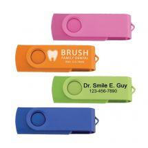 Custom 1GB Folding USB Flash Drive