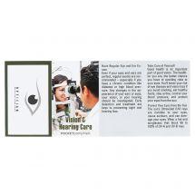 Custom Pocket Pamphlets - Vision & Hearing