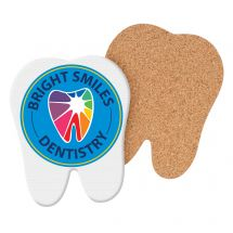 Custom Tooth-Shaped Full Color Coasters