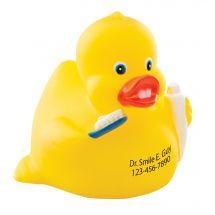 Custom Brushing Rubber Ducks